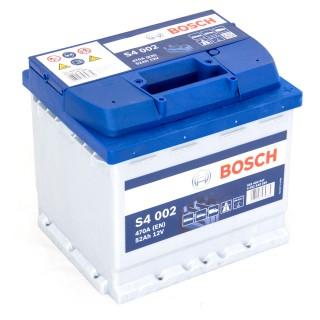 Akumuliatorius BOSCH 52Ah 470A S4002