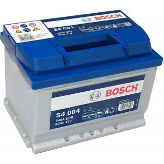 Akumuliatorius BOSCH 60Ah 540A S4004