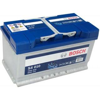 Akumuliatorius BOSCH 80Ah 740A S4010