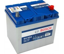 Akumuliatorius BOSCH 60Ah 540A S4024