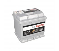 Akumuliatorius BOSCH 54Ah 530A S5002