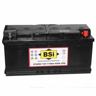 Akumuliatorius BSI 110Ah 920A