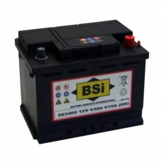 Akumuliatorius BSI 63Ah 610A