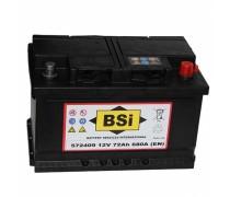 Akumuliatorius BSI 72Ah 680A