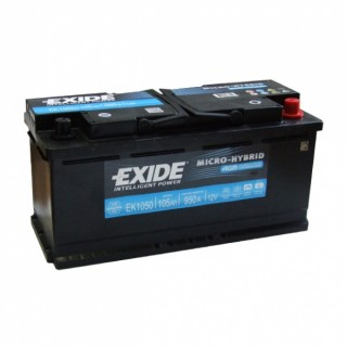 Akumuliatorius EXIDE 105Ah 950A AGM