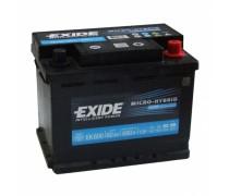 Akumuliatorius EXIDE 60Ah 680A AGM