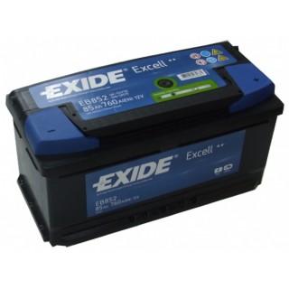 Akumuliatorius EXIDE 85Ah 760A