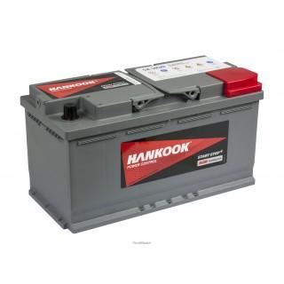 Akumuliatorius Hankook 95Ah 850A AGM