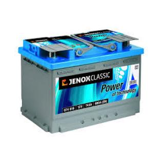 Akumuliatorius Jenox Classic 74Ah 680A