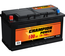 AKUMULIATORIUS CHAMPION POWER 12V/100AH/750A EN