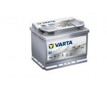 Akumuliatorius Varta D52 60AH 680A