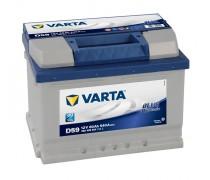 Akumuliatorius Varta D59 60Ah 540A