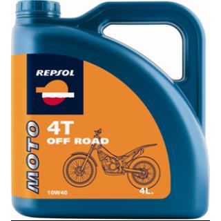 REPSOL MOTO OFF ROAD 4T 10W40 4L