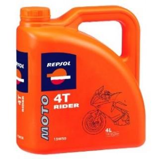 REPSOL MOTO RIDER 4T 15W50 4L