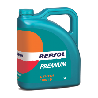 Alyva REPSOL PREMIUM GTI/TDI 10W40 5L