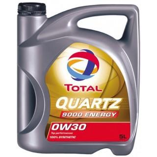 Alyva TOTAL Quartz Energy 9000 0W30 5L