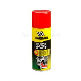 BARDAHL QUICK START palengvinanti variklio užvedimą priemonė