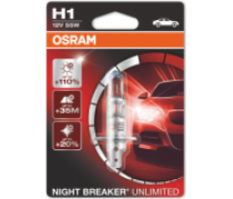 OSRAM NIGHT BREAKER UNLIMITED H1 55W 12V | 64150NBU-01B