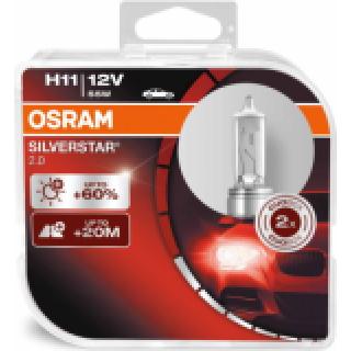 OSRAM SILVERSTAR H11 55W 12V | 64211SV2-HCB