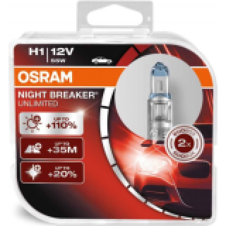 OSRAM NIGHT BREAKER UNLIMITED H11 55W 12V | 64211NBU-HCB