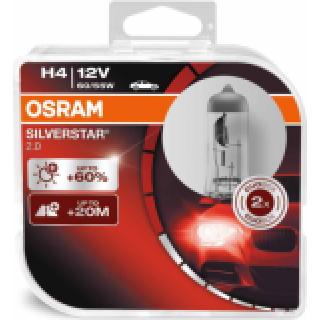 OSRAM SILVERSTAR H4 60/55W 12V | 64193SV2-HCB