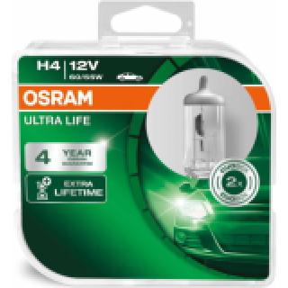 OSRAM ULTRA LIFE H4 60/55W 12V | 64193ULT-HCB