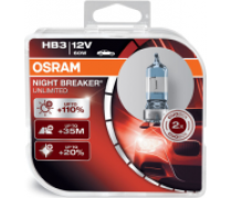 OSRAM NIGHT BREAKER UNLIMITED +110% HB3 60W 12V | 9005NBU-HCB