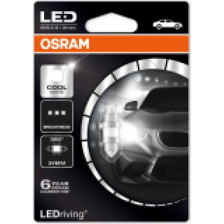 OSRAM COOL WHITE LED 1W 12V | 6498CW-01B