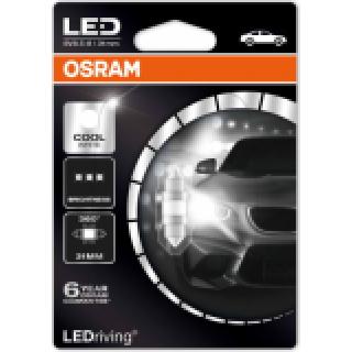 OSRAM COOL WHITE LED 1W 12V   6498CW-01B