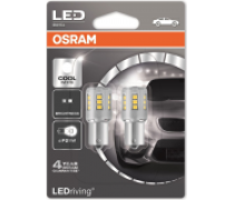 OSRAM COOL WHITE STANDARD 6000K LED 2,5W 12V | 7456CW-02B